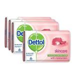 Dettol Soap Skin Care 125G Pack of 4