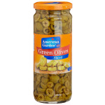 A Garden Sliced Drained Green Olives 450G
