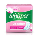 Whisper Ultra Soft XL Pack of 15