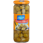 American Garden Whole Green Olives 450G