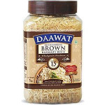 Daawat Brown Rice 1Kg Jar