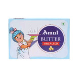 Unsalted Butter 100G By Amul