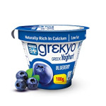 Greekyo Greek Yoghurt Blueberry 100G