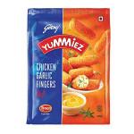 Yummiez Chicken Garlic Fingers 400G