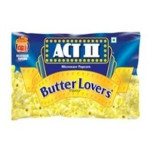 Act 2 Micro Wave Pop Corn Butter Lovers 99G