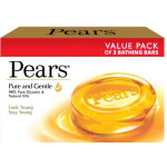 Pears Pure & Gentle Soap 75G Pack of 3