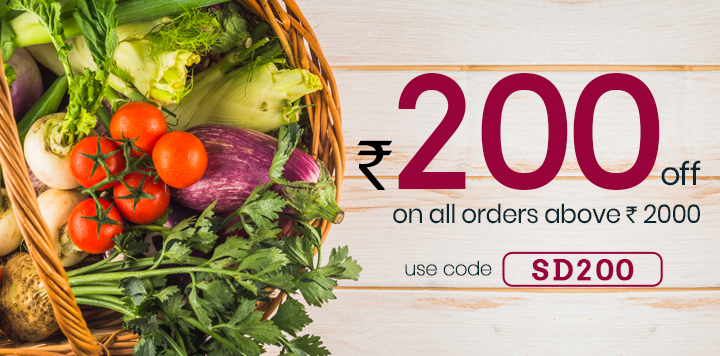 Online Grocery Shopping with Home Delivery in 90 mins